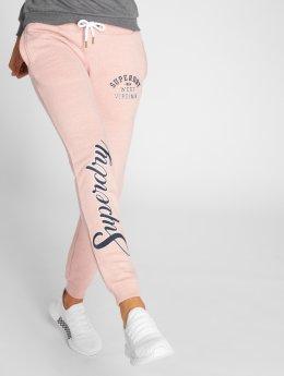 Superdry joggingbroek Aria Applique pink
