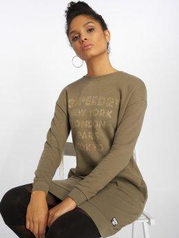 Superdry Kleid Embellished khaki