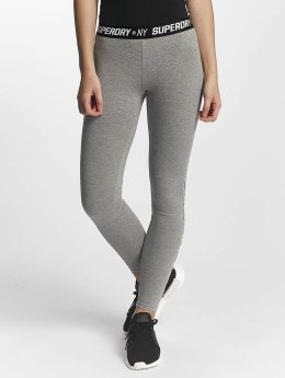 Superdry Legging Sport Tape grau