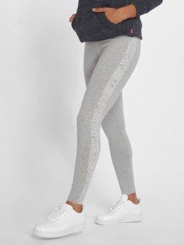 Superdry Legging Urban Logo grijs