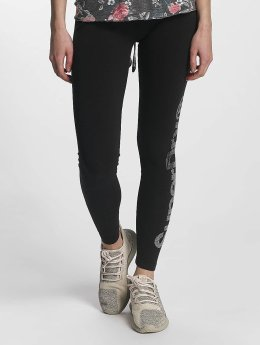 Superdry Legging Sparkle schwarz