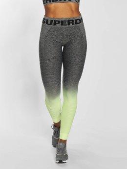 Superdry Leggingsit/Treggingsit Seamless keltainen