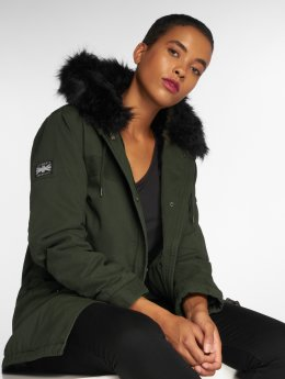 Superdry Parka Rookie Hawk caqui