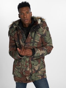 Superdry Parka Expedition kamuflasje