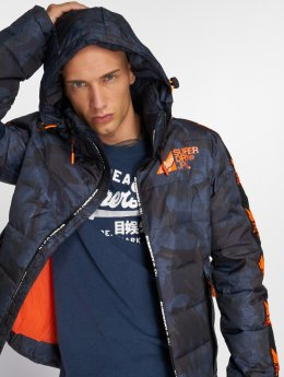 Superdry Puffer Jacket Glacial Utility Puffer camouflage