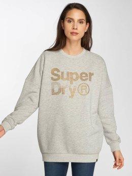 Superdry Pullover parkle Skater grau