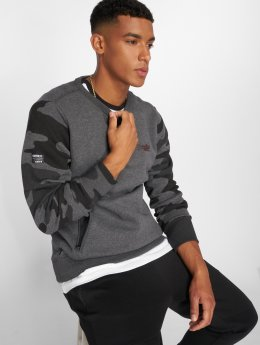 Superdry Pullover Orange Label Urban grau