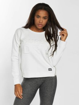 Superdry Pullover 3D Boxy weiß