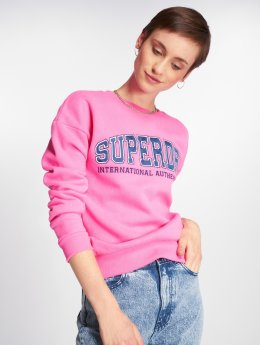 Superdry Puserot Urban Street Applique vaaleanpunainen