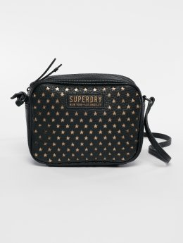 Superdry Sac Delwen Star Perf Cross noir