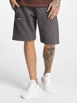 Superdry Short Orange Label Cali gris