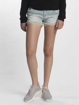 Superdry Shorts Lace Trim blau