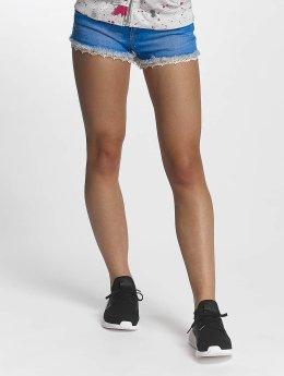 Superdry shorts Lace Trim Hot blauw
