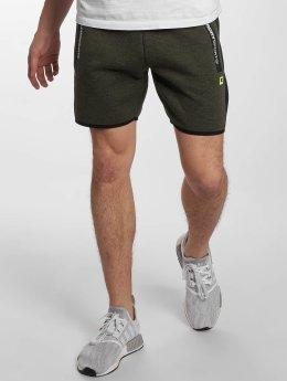 Superdry Shorts Sport Gym Technical Stripe olive