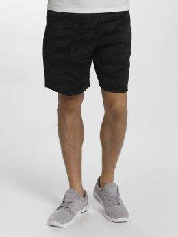 Superdry Shorts Sport Training schwarz
