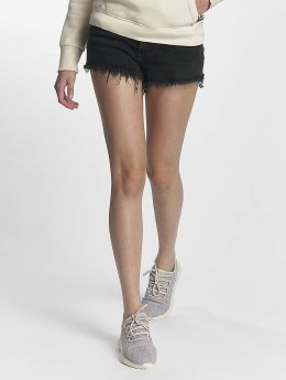Superdry Frauen Shorts Eliza Cut Off in schwarz