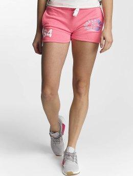 Superdry Shortsit Track And Field Lite vaaleanpunainen