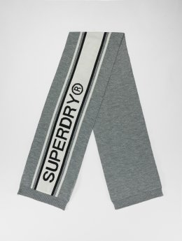 Superdry sjaal Oslo Racer grijs