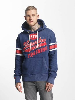 Superdry Sudadera Real Athletics azul