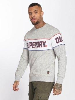 Superdry Sweat & Pull Retro Stripe gris