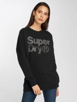 Superdry Sweat & Pull Sparkle Skater noir