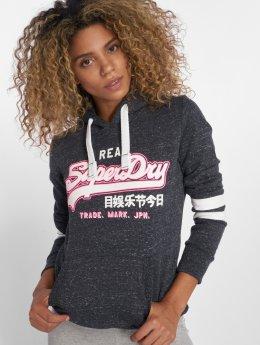 Superdry Sweat capuche Vintage Logo Outline Entry bleu
