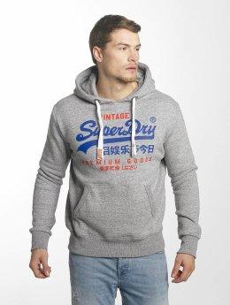 Superdry Sweat capuche Premium Goods Duo gris