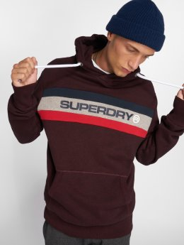 Superdry Sweat capuche Trophy rouge