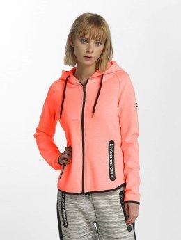 Superdry Sweat capuche zippé Sport Gym Technical Luxe orange
