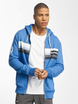 Superdry Sweatvest Super 77 Surf Raglan blauw