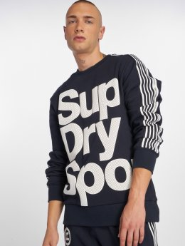 Superdry Swetry Combat niebieski