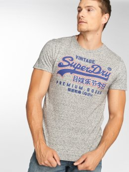 Superdry T-paidat Goods Out Line harmaa
