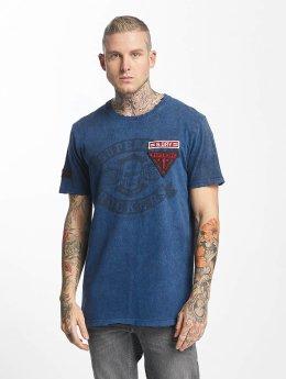 Superdry T-shirt World Tour blå