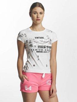 Superdry T-Shirt Premium Goods Doodle Entry blanc