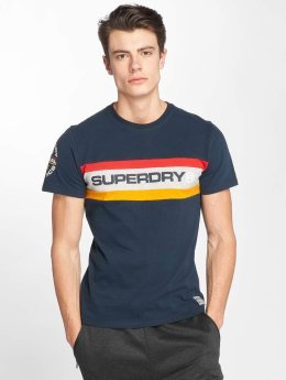 Superdry T-Shirt Trophy Chest Band blau