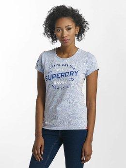 Superdry t-shirt Maritime blauw