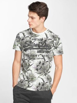 Superdry t-shirt Shop AOP bont