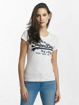 Superdry T-Shirt Vintage Logo Foil Pop Entry grau