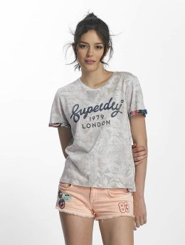 Superdry T-Shirt 1979 Hawaii Boxy grau