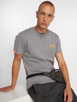 Superdry T-Shirt Orange Label Vintage grau