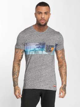 Superdry t-shirt No 7 Surf Pocket grijs