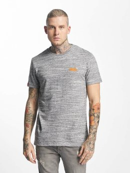 Superdry T-Shirt Orange Label Vintage Embroidered gris