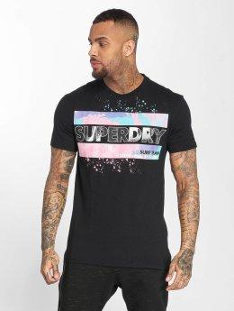 Superdry T-Shirt Echo Box Fit noir