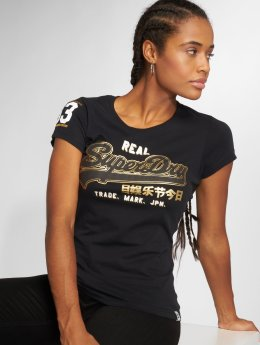 Superdry T-Shirt Vintge Logo noir