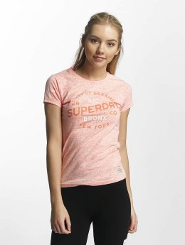 Superdry Maritime Blue Reverse Dyed T-Shirt Reef Coral Reverse Dyed