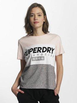 Superdry T-Shirt LA Boxy pink