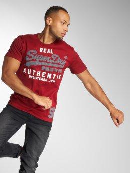 Superdry T-shirt Vintage Authentic Duo röd