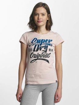 Superdry T-shirt Original Brand rosa