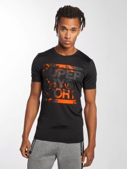 Superdry T-Shirt Sport Training Graphic schwarz