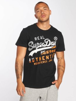 Superdry T-Shirt Vintage Authentic XL schwarz